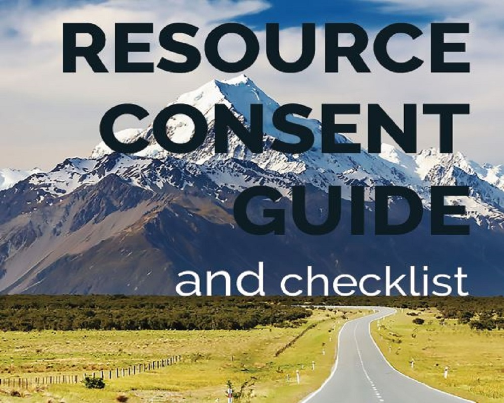 Resource Consent Guide and Checklists